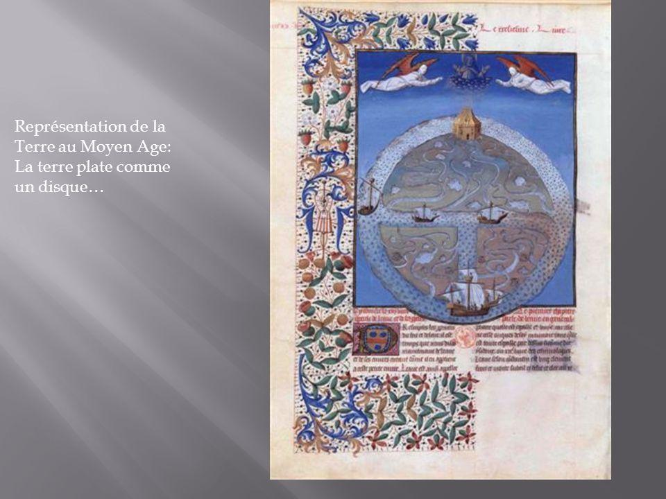 Représentation de la Terre au Moyen Age: