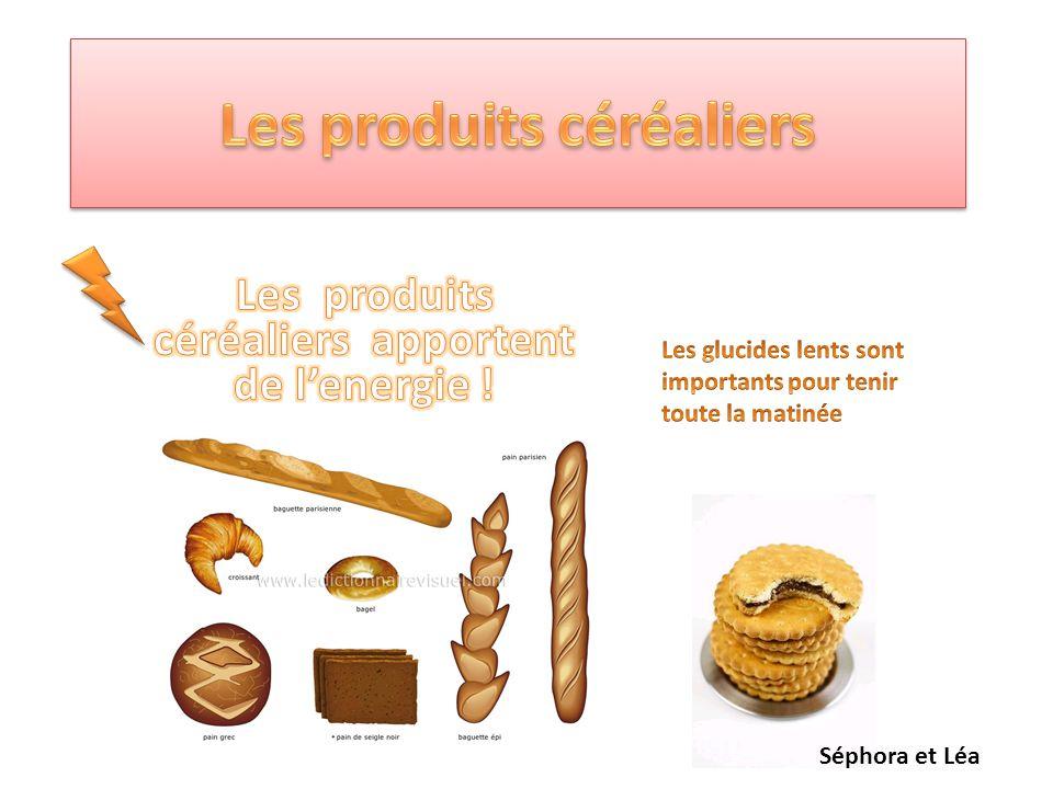 Les produits céréaliers