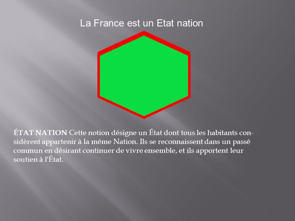 La France est un Etat nation