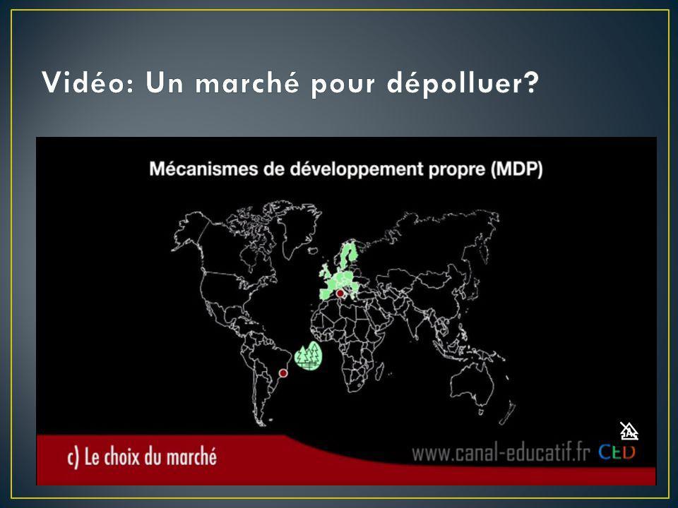Vidéo: Un marché pour dépolluer