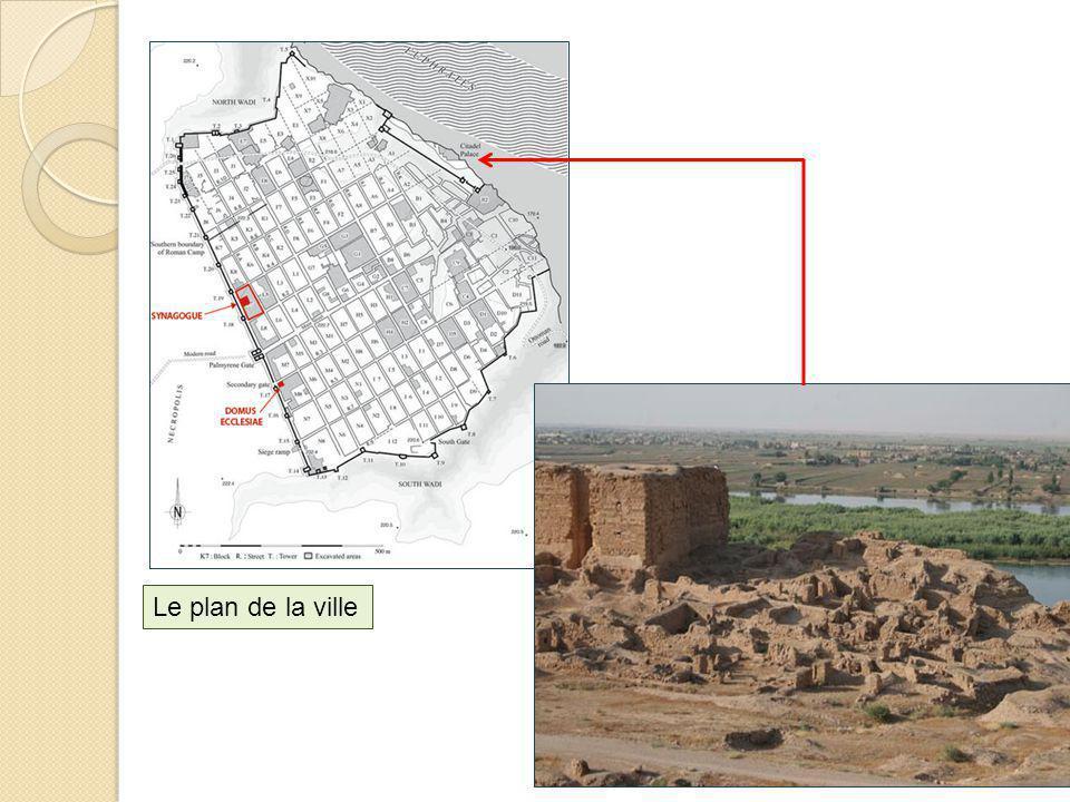 Le plan de la ville