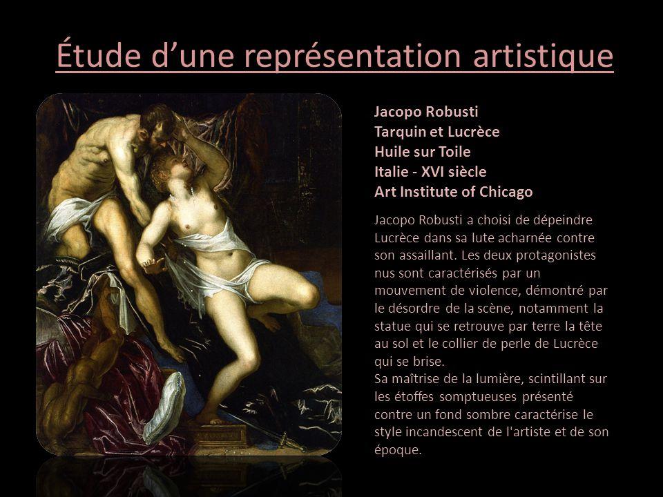 Étude d'une représentation artistique