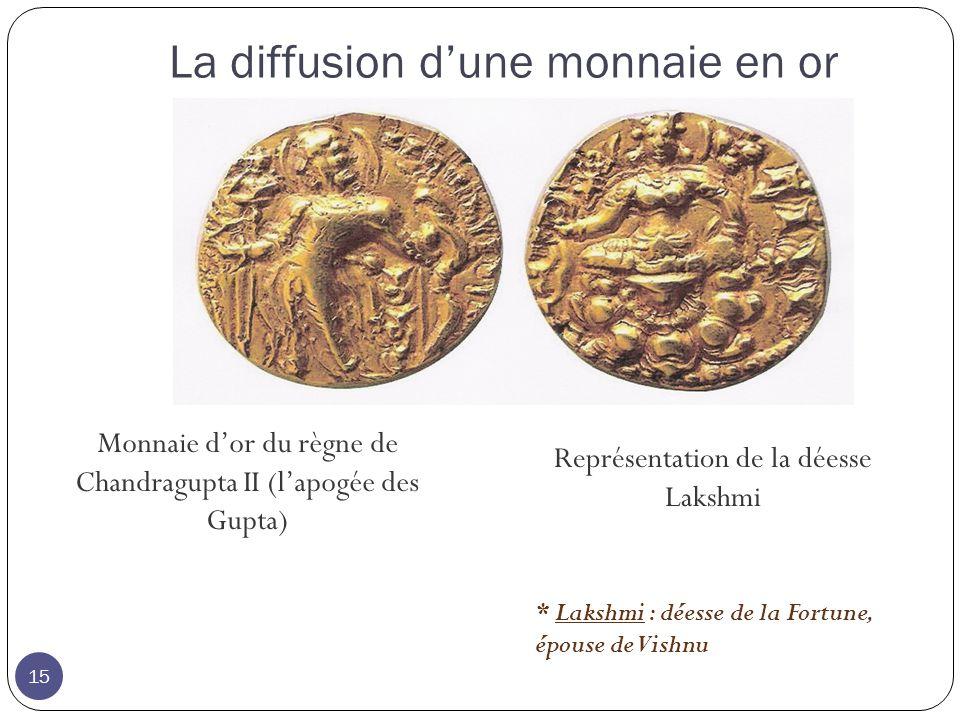 La diffusion d'une monnaie en or