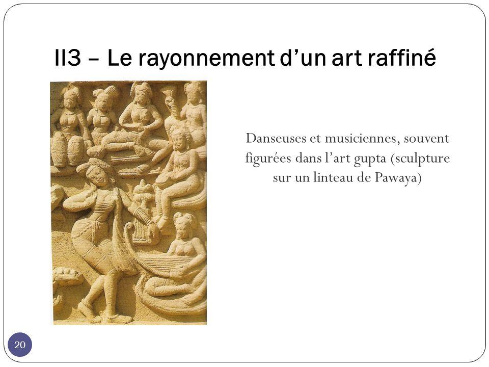 II3 – Le rayonnement d'un art raffiné