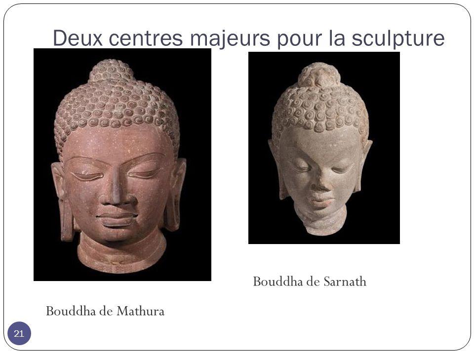 Deux centres majeurs pour la sculpture