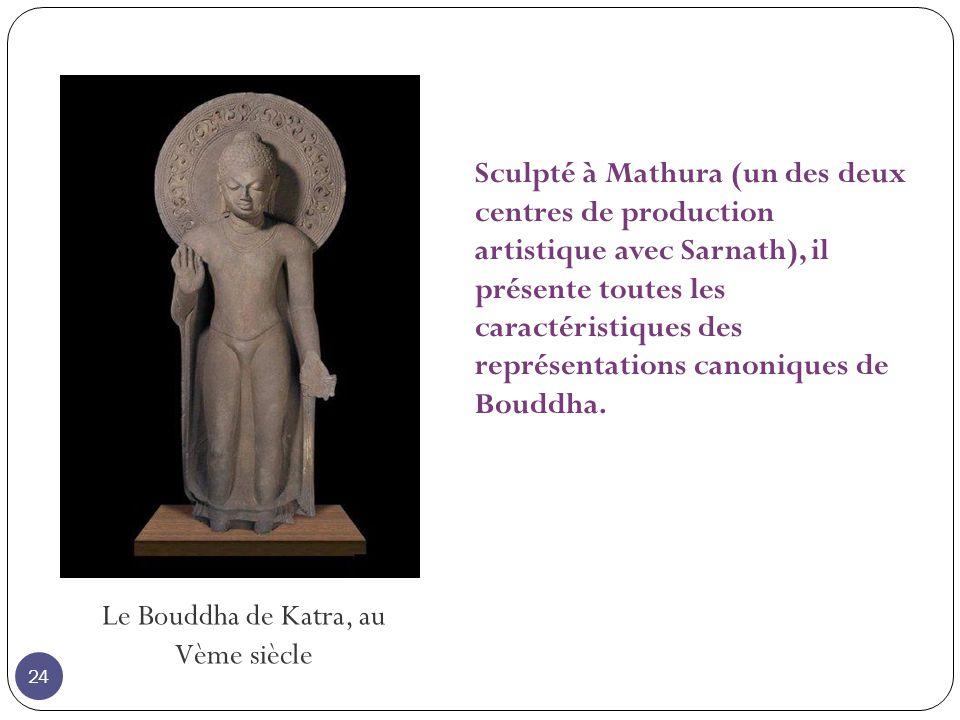 Le Bouddha de Katra, au Vème siècle