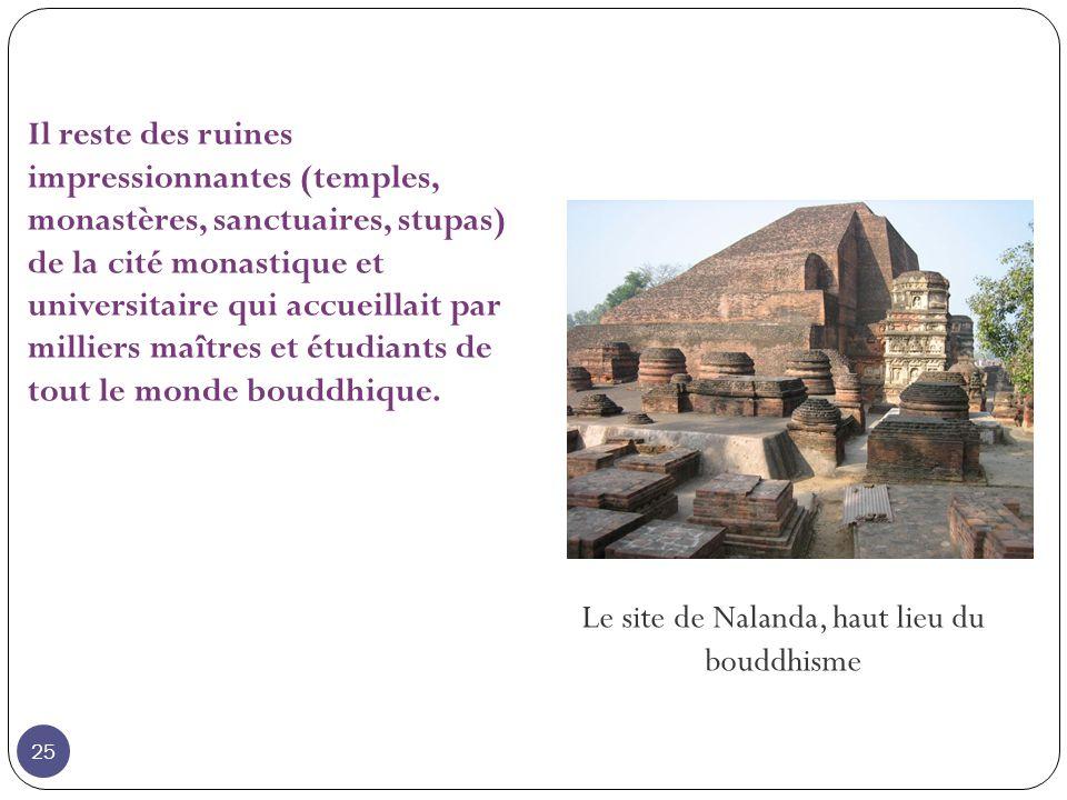 Le site de Nalanda, haut lieu du bouddhisme