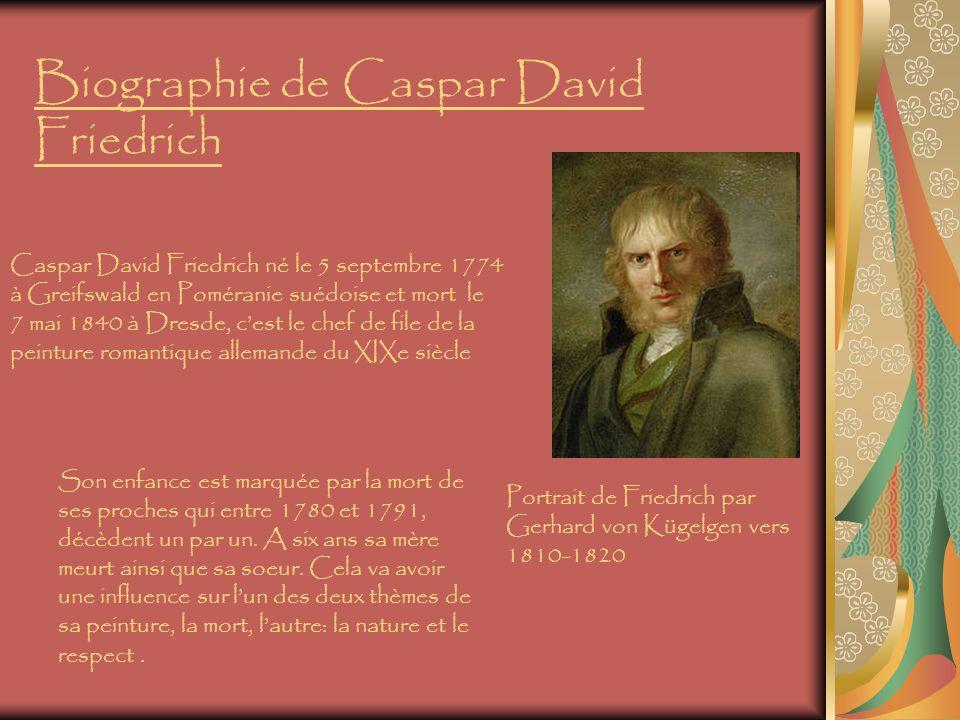 Biographie de Caspar David Friedrich