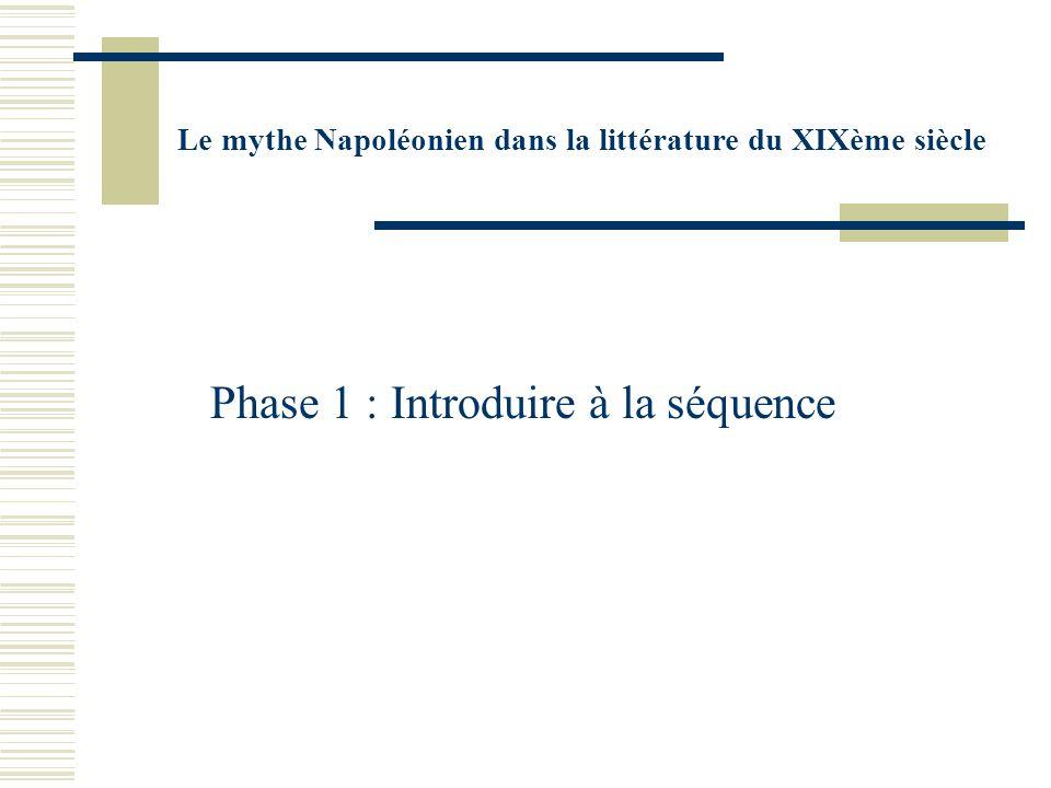 Phase 1 : Introduire à la séquence