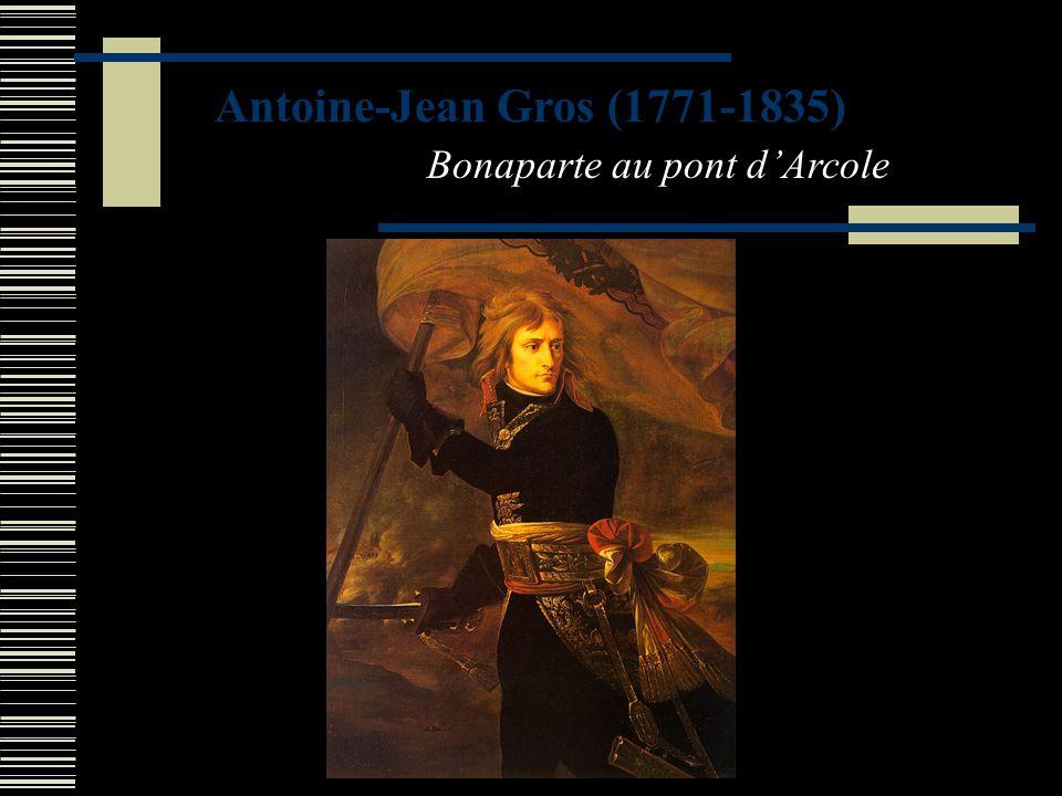 Antoine-Jean Gros (1771-1835) Bonaparte au pont d'Arcole