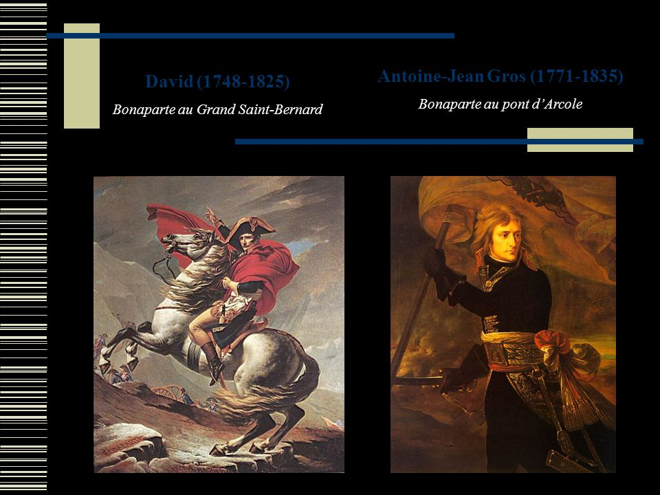 Antoine-Jean Gros (1771-1835) David (1748-1825)