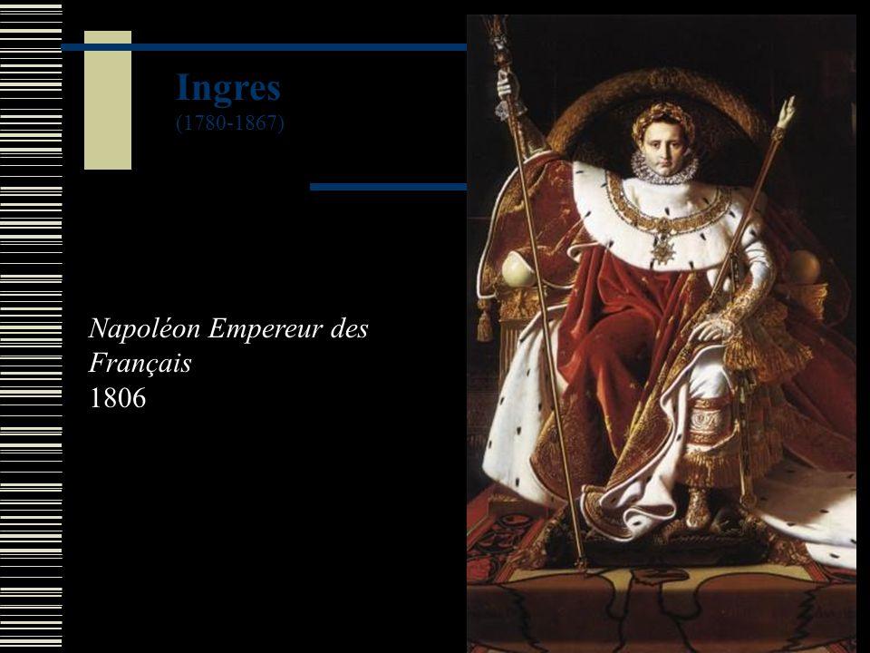 Ingres (1780-1867) Napoléon Empereur des Français 1806
