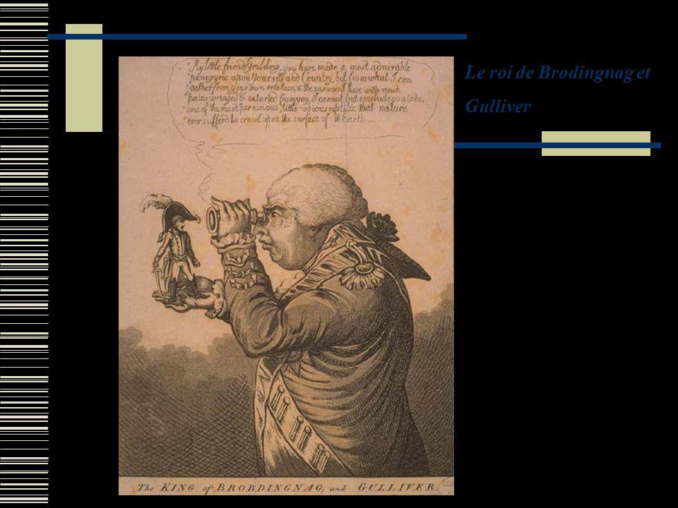 Le roi de Brodingnag et Gulliver