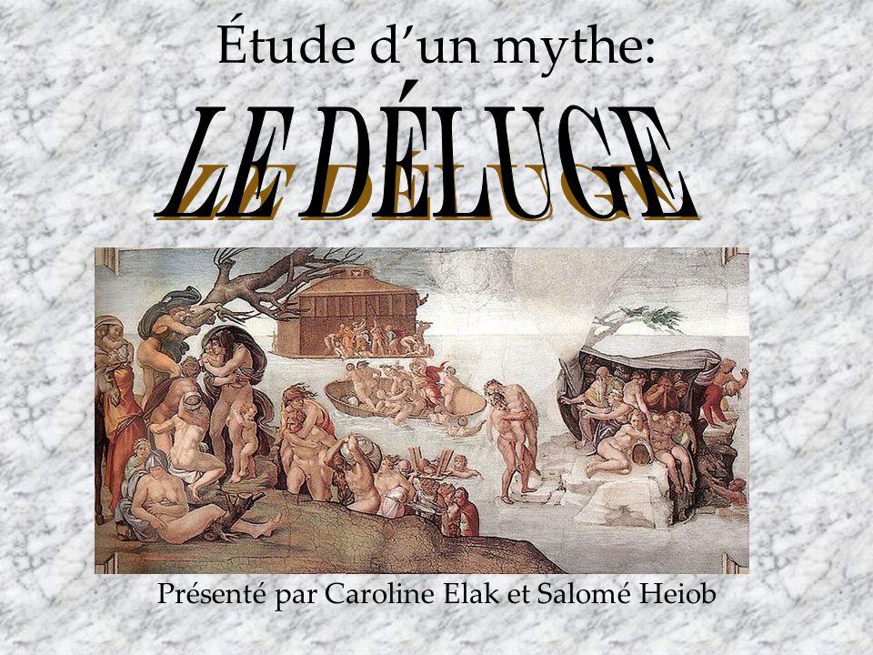 Présenté par Caroline Elak et Salomé Heiob