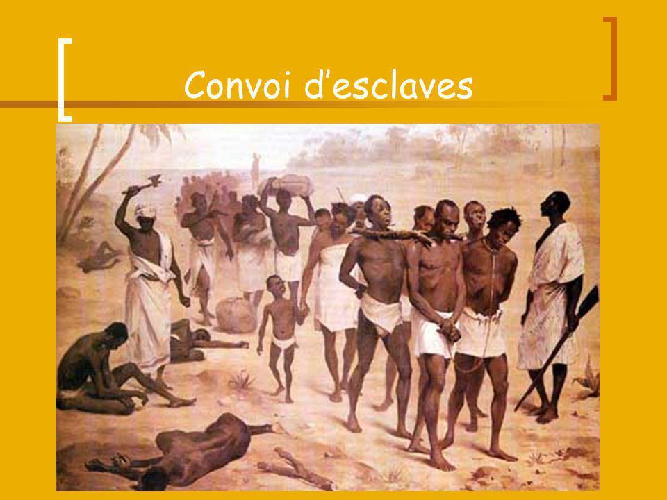 Convoi d'esclaves
