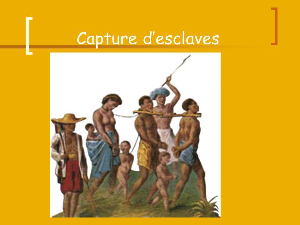 Capture d'esclaves