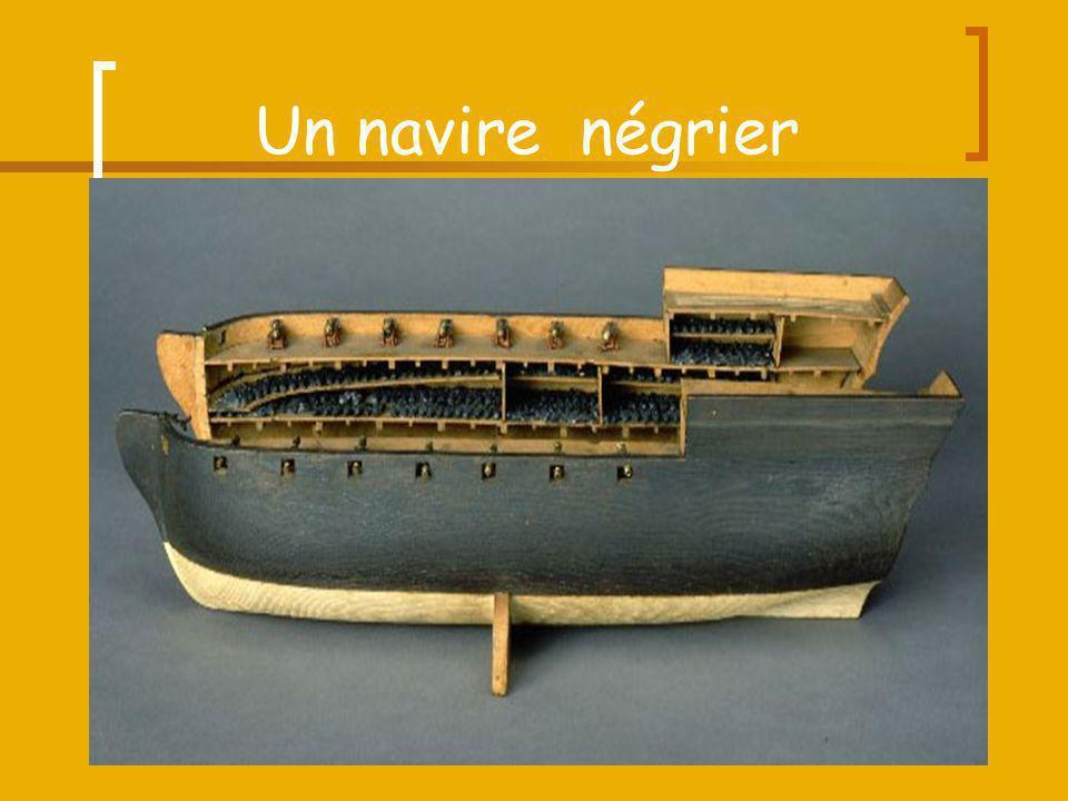 Un navire négrier