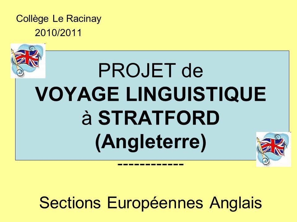 Collège Le Racinay 2010/2011.