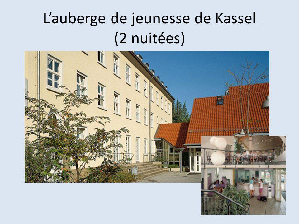 L'auberge de jeunesse de Kassel (2 nuitées)