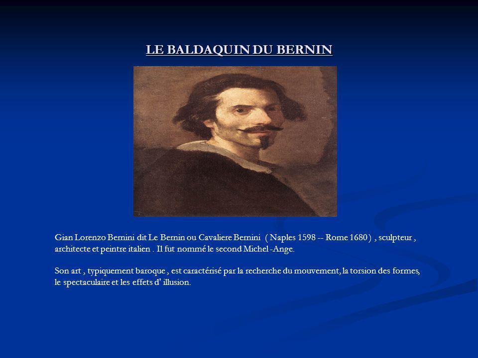 LE BALDAQUIN DU BERNIN