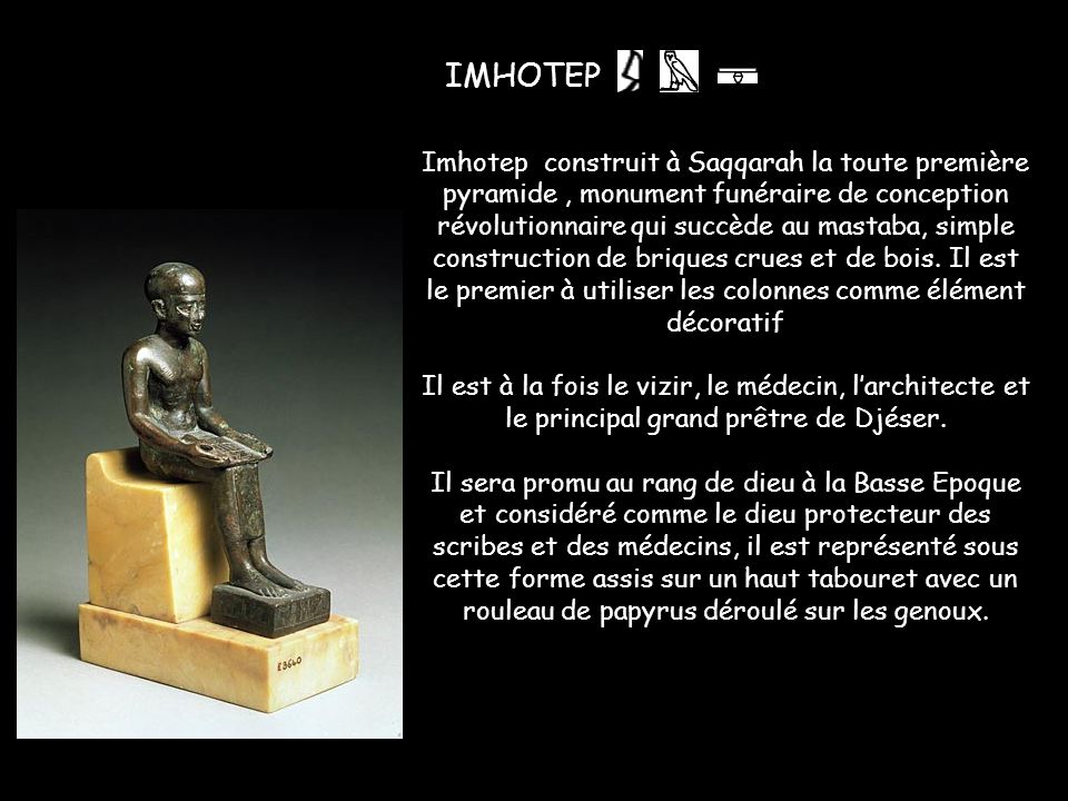 Imhotep ,
