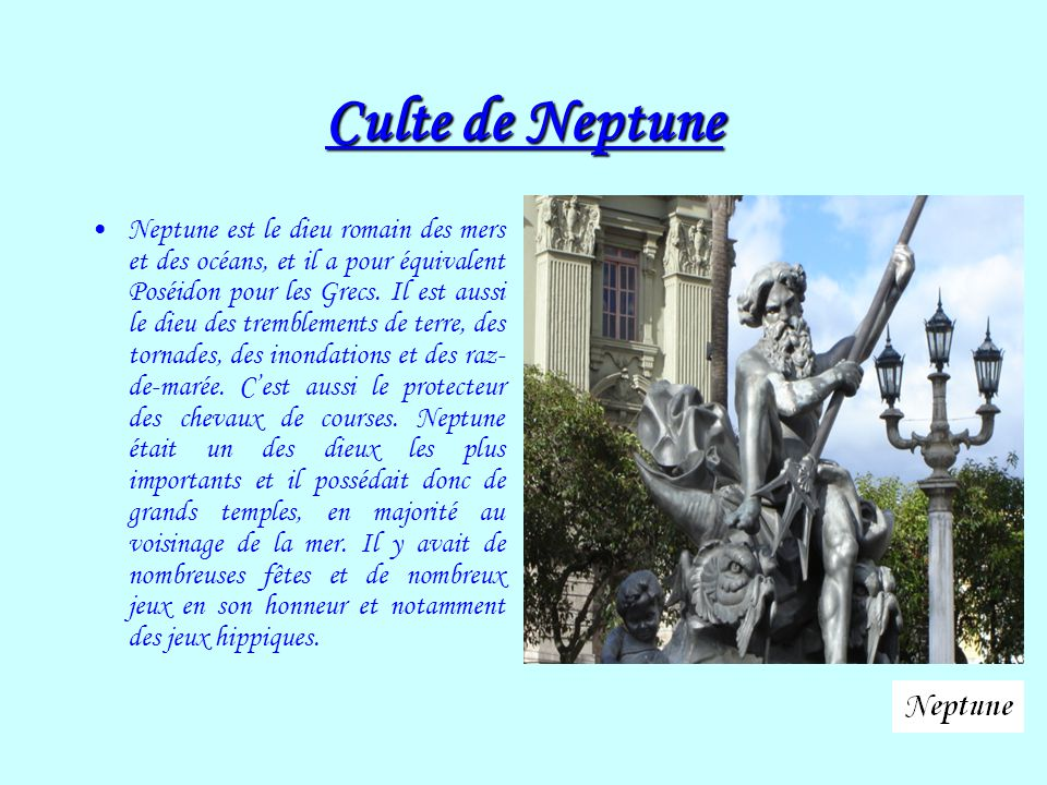 Culte de Neptune