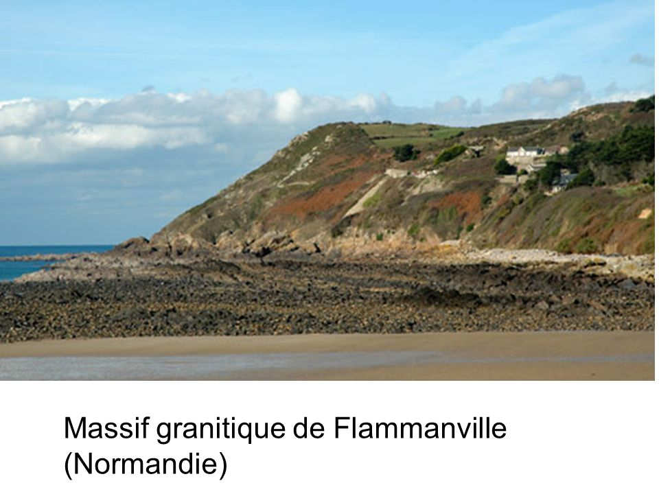 Massif granitique de Flammanville (Normandie)