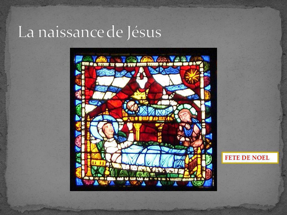 La naissance de Jésus FETE DE NOEL