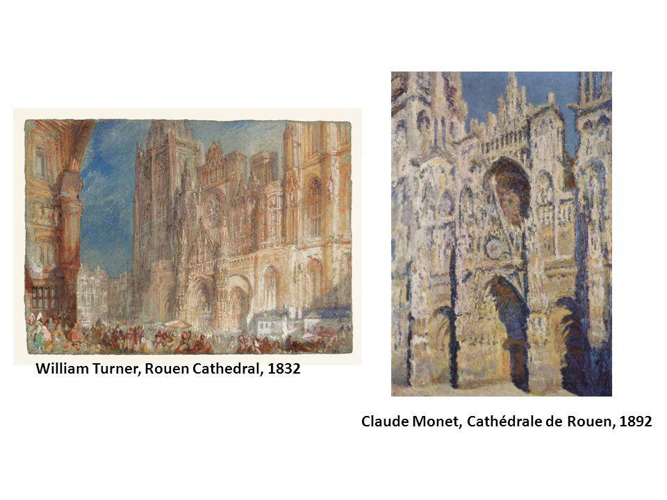 William Turner, Rouen Cathedral, 1832