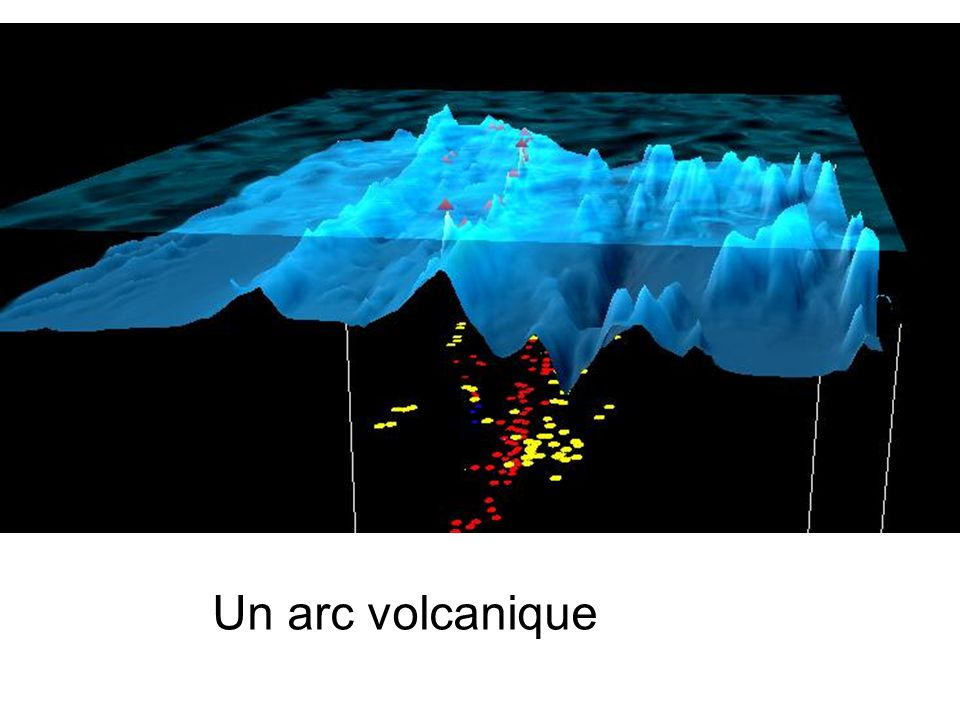 Un arc volcanique