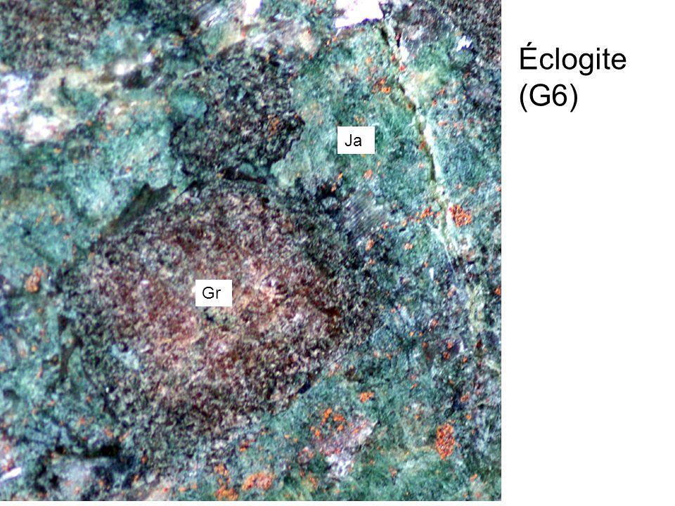 Éclogite (G6) Ja Gr