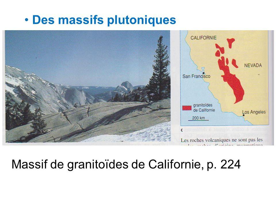 Des massifs plutoniques