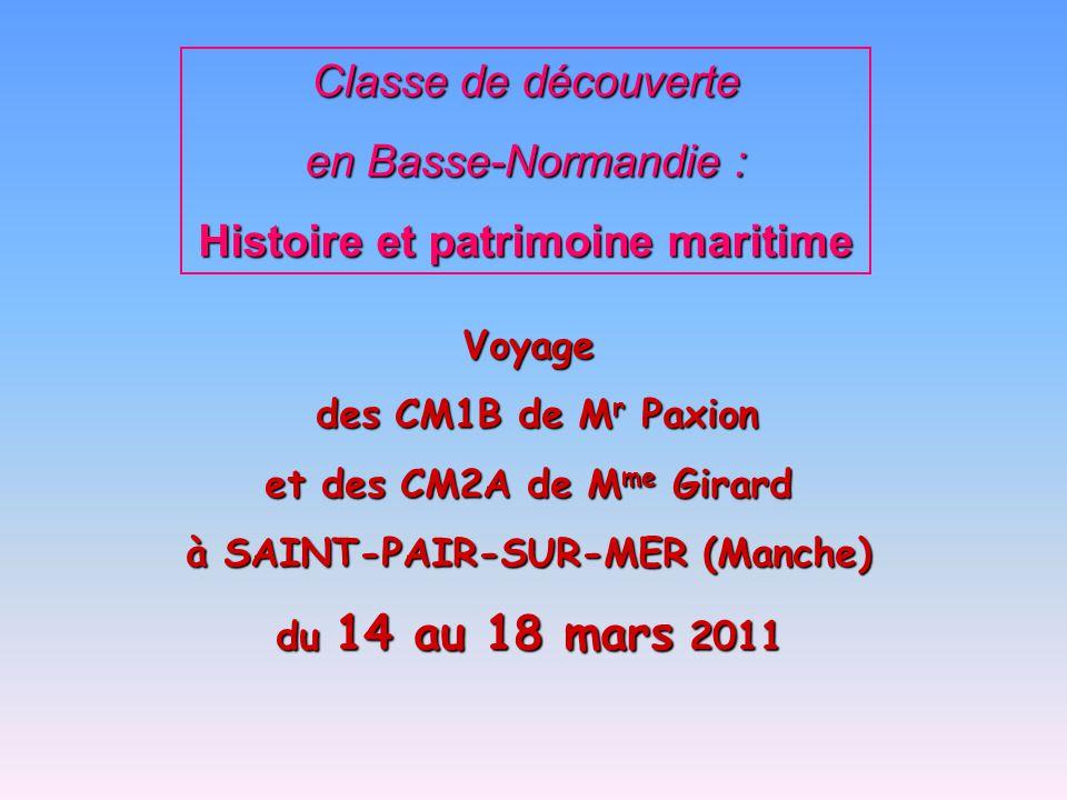 Histoire et patrimoine maritime à SAINT-PAIR-SUR-MER (Manche)