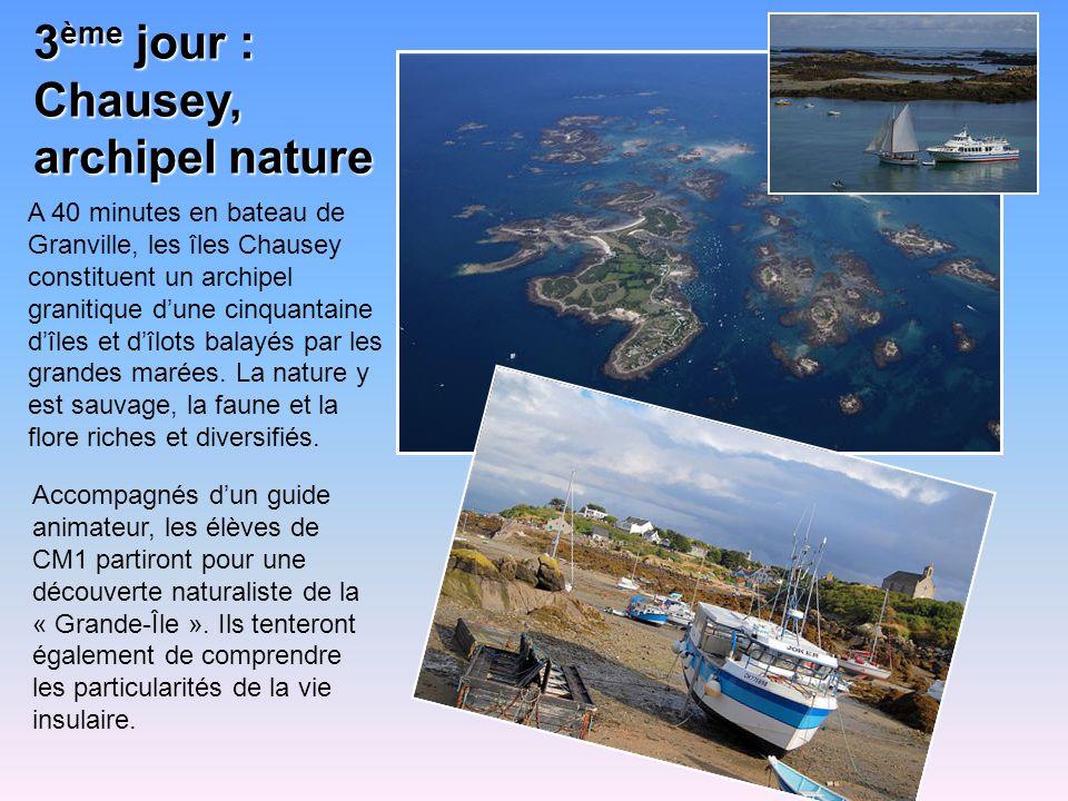 3ème jour : Chausey, archipel nature