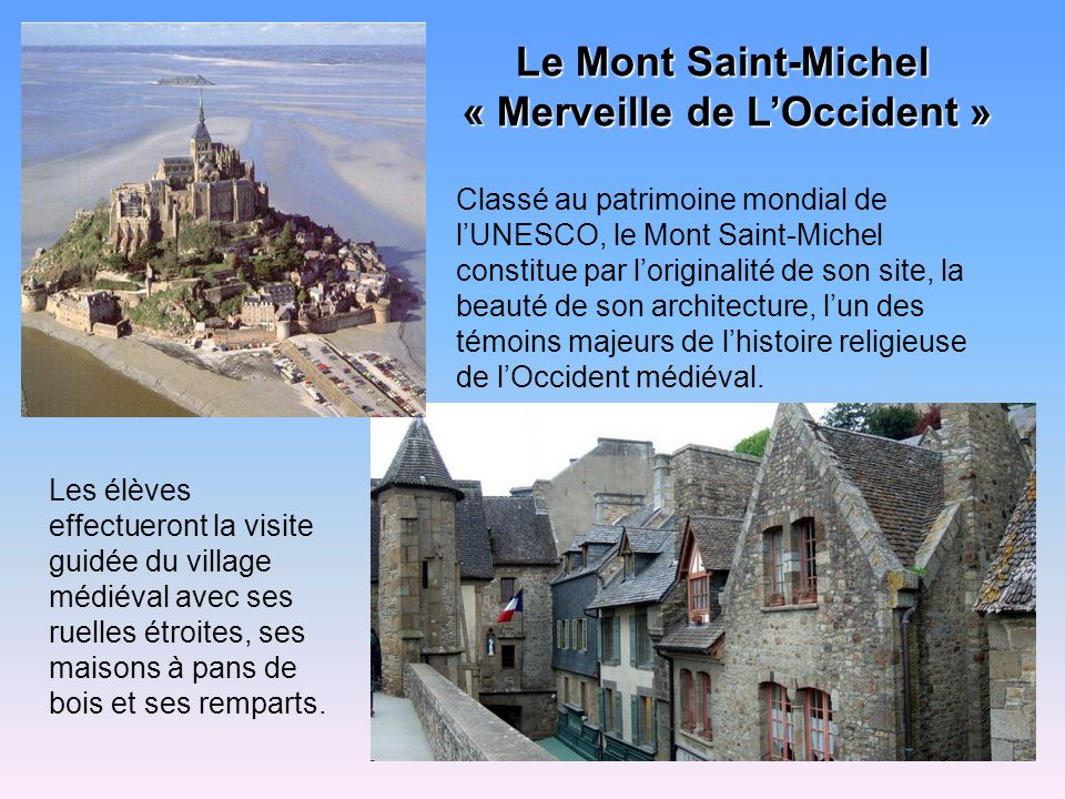 « Merveille de L'Occident »