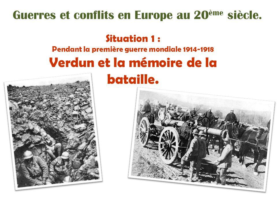 Verdun et la mémoire de la bataille.