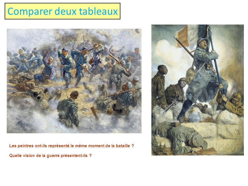 Comparer deux tableaux