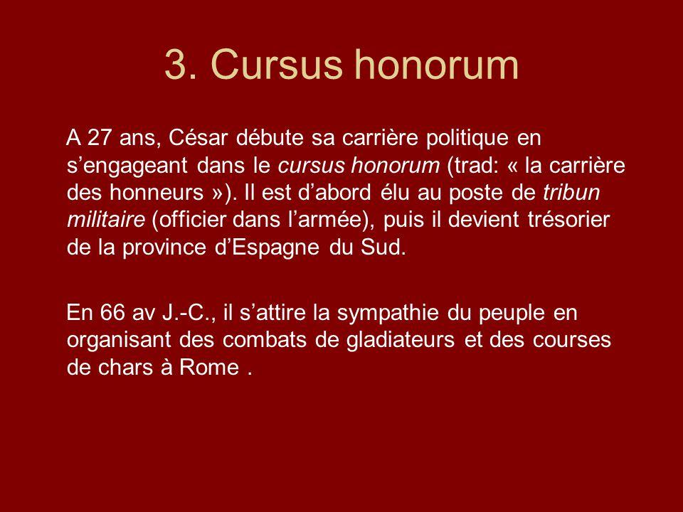 3. Cursus honorum