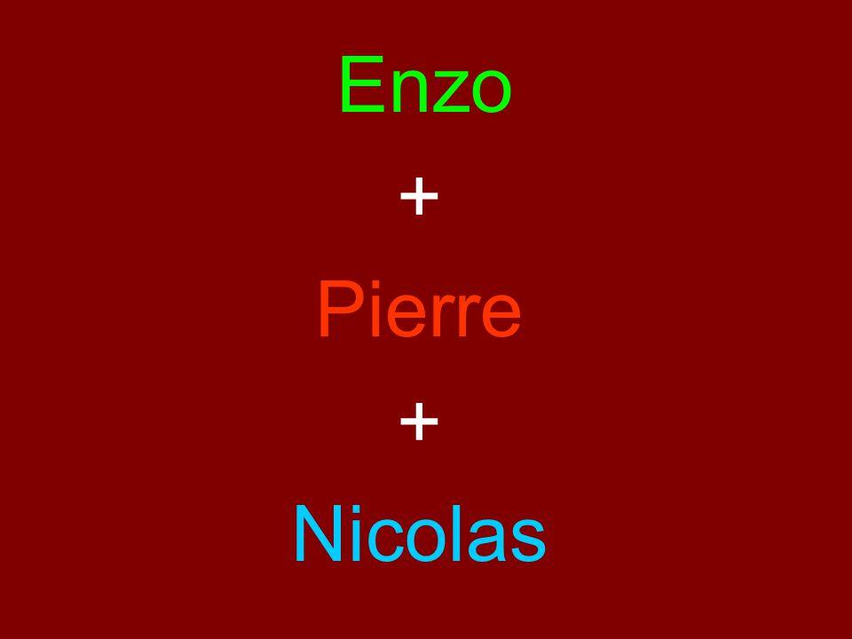Enzo + Pierre Nicolas