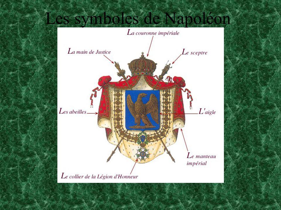 Les symboles de Napoléon