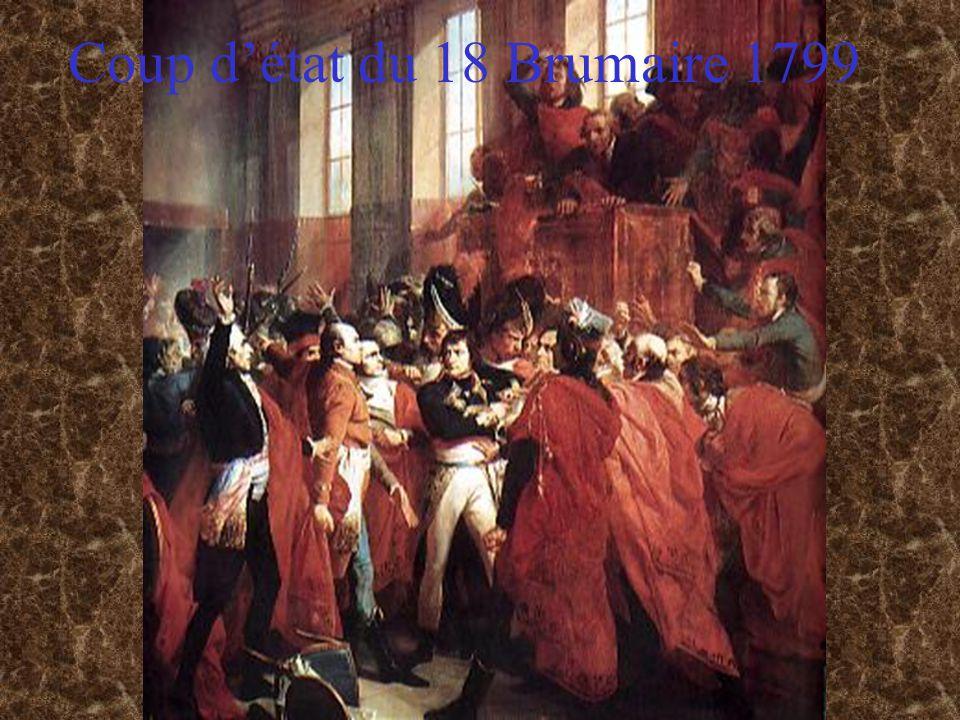 Coup d'état du 18 Brumaire 1799
