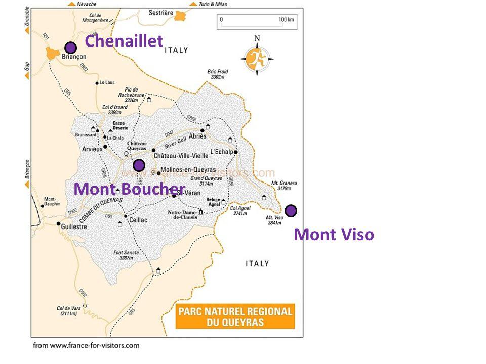 Chenaillet Mont Boucher Mont Viso
