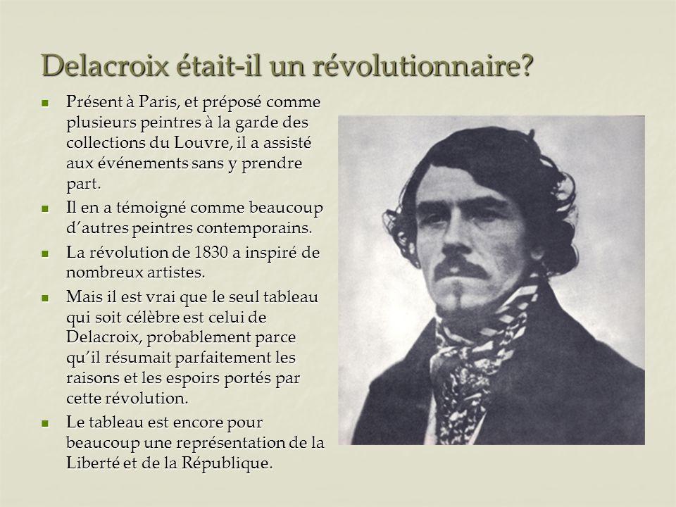 Delacroix était-il un révolutionnaire