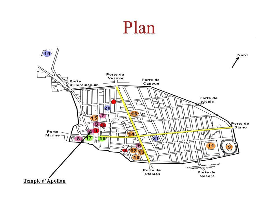 Plan Temple d'Apollon