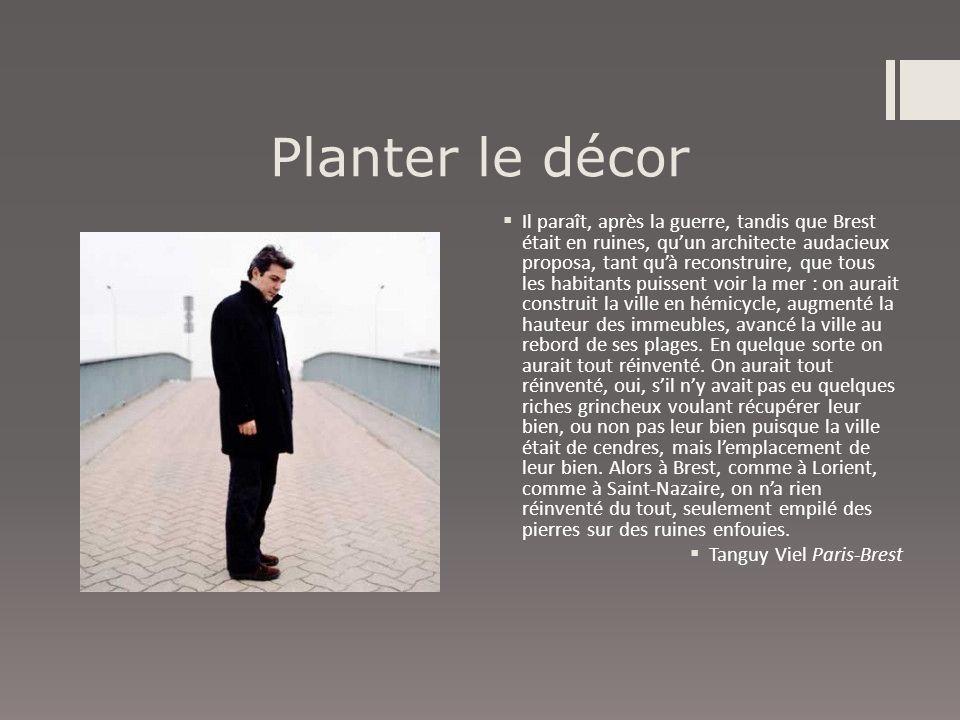 Planter le décor