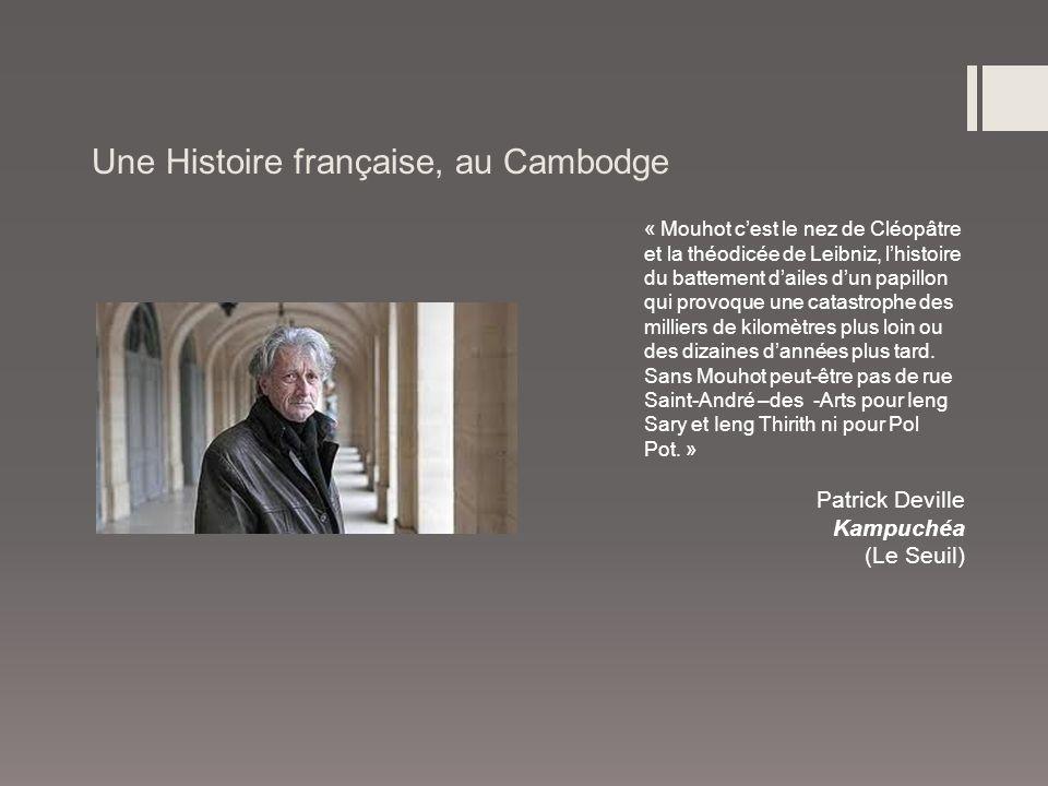 Une Histoire française, au Cambodge