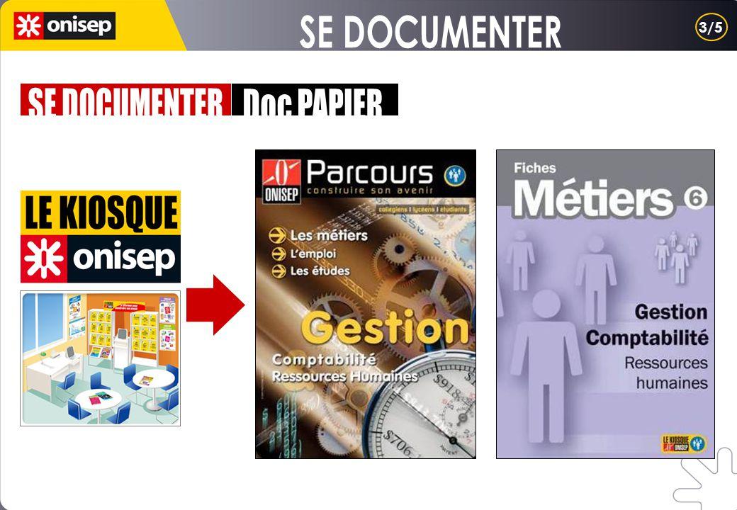SE DOCUMENTER 3/5 SE DOCUMENTER Doc PAPIER