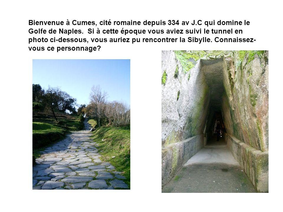 Bienvenue à Cumes, cité romaine depuis 334 av J