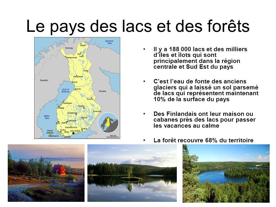 Le pays des lacs et des forêts