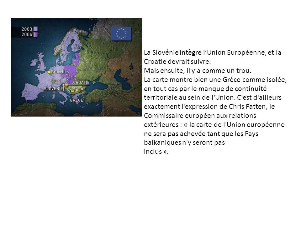La Slovénie intègre l'Union Européenne, et la Croatie devrait suivre